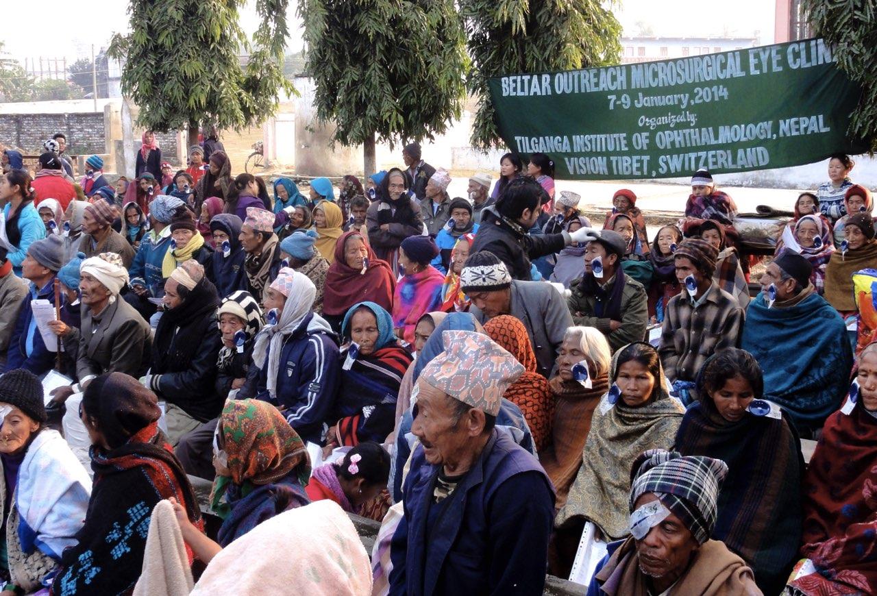 EINE WAHRE AUGENWEIDE – BERICHT ÜBER DAS EYECAMP IN BELTAR, UDAYAPUR NEPAL