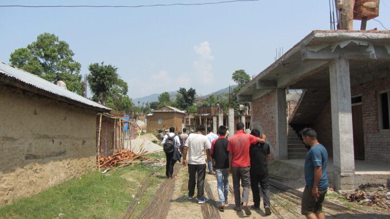 Giranchaur: Erdbeben-Wiederaufbau hoffnungsvoll unterwegs