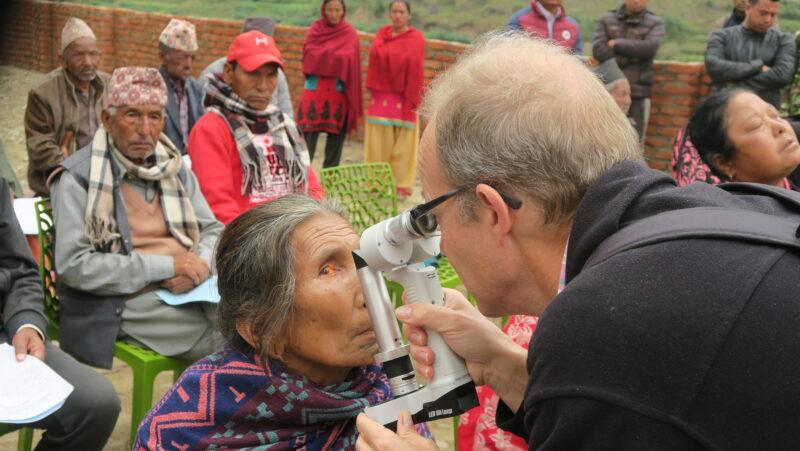 18.10. – 20.10.2019: Dr. Reto Graemiger, Vize-Präsident im Stiftungsrat, berichtet vom Augencamp in Palung, Nepal